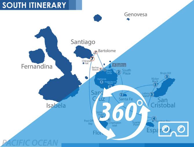 Virtual Tour 360 Nemo Ii Galapagos Islands Cruises