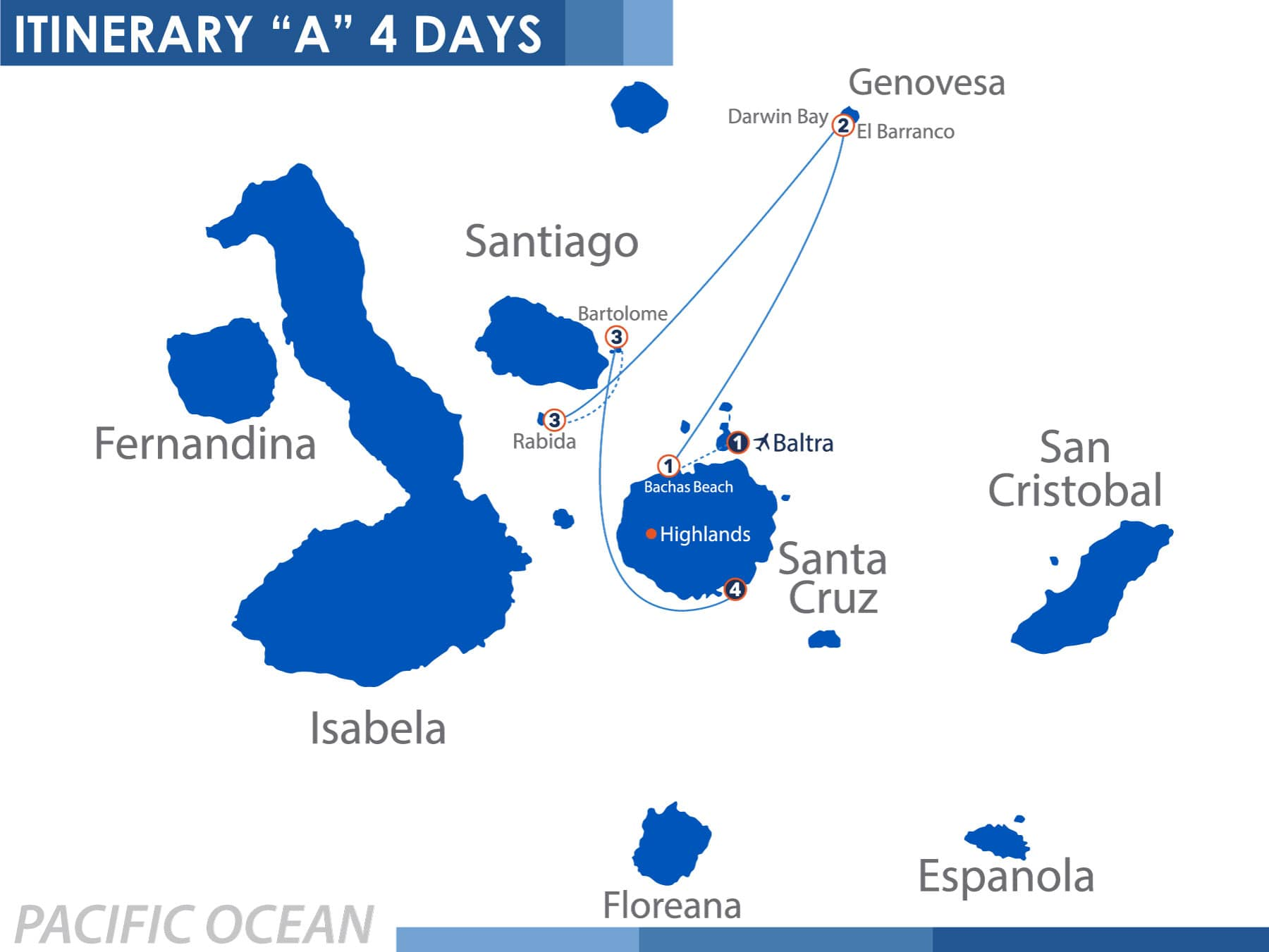 North Itinerary 'A4' 4 days Nemo 1