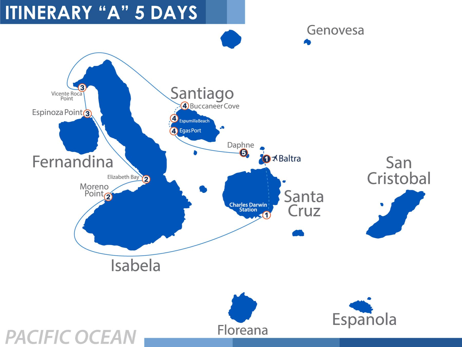 North Itinerary 'A5' 5 days Nemo 1
